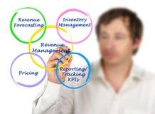 Componentes da gestão do rendimento imagens de stock royalty free