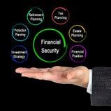 Componentes da segurança financeira fotografia de stock
