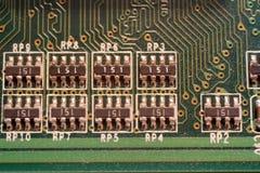 Componentes de computador Imagem de Stock Royalty Free