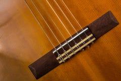 Componentes de la guitarra Imágenes de archivo libres de regalías