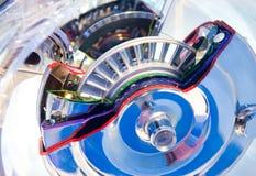 Componentes de motor automotriz Foto de Stock Royalty Free