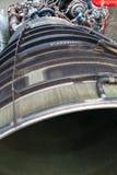 Componentes de motor do jato Imagens de Stock Royalty Free
