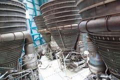 Componentes de motor do jato Imagem de Stock
