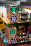 Componentes de radio fotografía de archivo