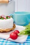 Componentes de um café da manhã saudável Imagens de Stock
