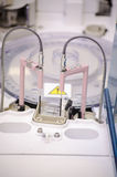 Componentes del analizador - laboratorio Imagenes de archivo