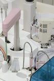 Componentes del analizador - laboratorio Fotografía de archivo libre de regalías