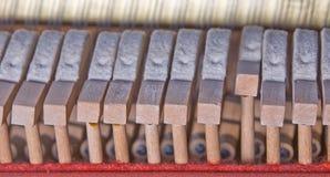 Componentes del piano fotos de archivo libres de regalías