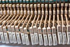 Componentes del piano fotografía de archivo