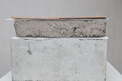 Componentes del piso imagen de archivo