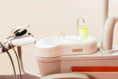 Componentes dentais da cadeira imagem de stock royalty free