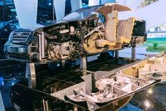 Componentes do carro imagens de stock royalty free