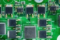 Componentes do cartão-matriz imagens de stock