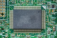 Componentes do cartão-matriz fotos de stock royalty free