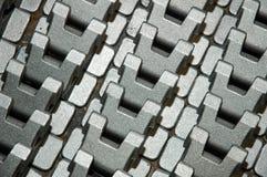 Componentes do metal imagem de stock royalty free