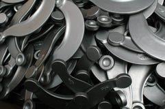 Componentes do metal Imagens de Stock Royalty Free