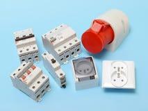 Componentes elétricos Imagem de Stock Royalty Free