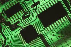 Componentes elétricos Imagem de Stock