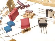 Componentes electrónicos Fotos de archivo