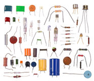 Componentes electrónicos Foto de archivo
