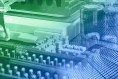 Componentes eletrônicos imagem de stock