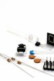 Componentes eletrônicos. foto de stock royalty free