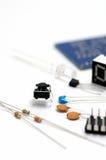 Componentes eletrônicos. fotografia de stock royalty free