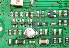 Componentes eletrônicos e dispositivos Fotografia de Stock Royalty Free