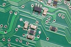 componentes eletrônicos miniaturizados de um circuito elétrico fotografia de stock royalty free