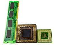 Componentes eletrônicos para o computador foto de stock royalty free