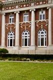 Componentes institucionales del edificio Imágenes de archivo libres de regalías