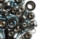 Componentes mecánicos Foto de archivo