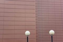 Componentes modernos de la iluminación del LED de la infraestructura urbana Imagenes de archivo
