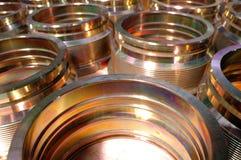 Componenti del metallo fotografia stock