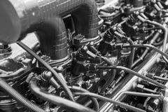 Componenti del motore per la macchina motore immagine stock libera da diritti