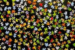 Componenti del puzzle Fotografie Stock Libere da Diritti