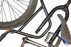 Componenti della bicicletta Fotografie Stock Libere da Diritti