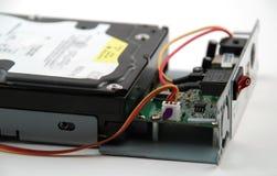Componenti elettroniche e circuiti Immagini Stock Libere da Diritti