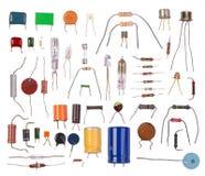 Componenti elettronici Fotografia Stock