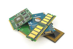Components for computer Royalty Free Stock Image