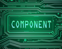 Components concept. Stock Photography