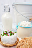 Components of a healthy breakfast. Stock Photos
