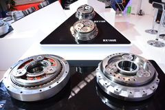 Components and parts. These parts are gears and bearings, and they are important parts of the machine stock photos