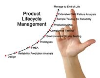 Product Life Cycle Management Royalty Free Stock Image
