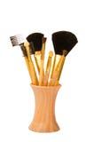 Componga el conjunto de cepillo Fotografía de archivo