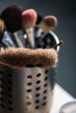 Componga el equipo del cepillo Foto de archivo