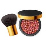 Componga el polvo, ruborícese Skincare, forma de vida de la belleza libre illustration