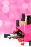 Componga i cosmetici Fotografia Stock