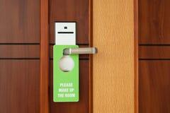 Componga la muestra del hotel del sitio Imágenes de archivo libres de regalías