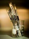 Componga le spazzole Fotografie Stock Libere da Diritti